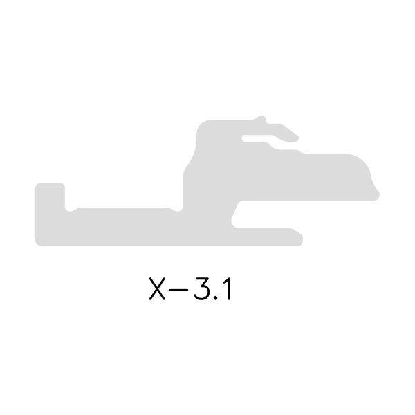 X-3.1